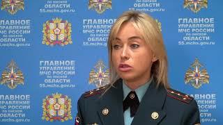 Появились первые кадры пожара из посёлка Береговой