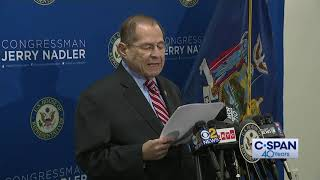 Rep. Jerry Nadler Statement on Muelller Report (C-SPAN)