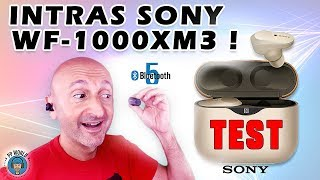 Vidéo-Test : TEST : Intras SONY WF-1000XM3 ! (True Wireless Bluetooth 5)