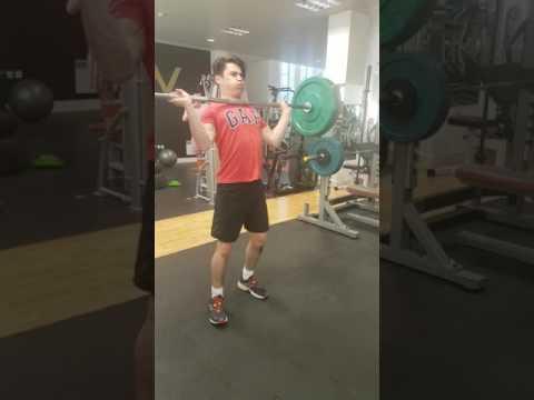 50 kg overhead squats