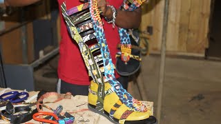 stylish gladiator sandal making (Ankara)