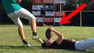 PEOPLE ARE AWESOME (American Sports Edition) | Football & Basketball Trick Shots