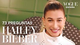 73 preguntas a Hailey Bieber | VOGUE España