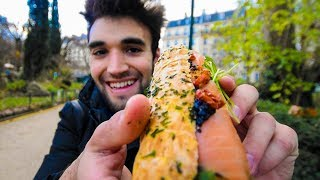 LIVING CHEAP in PARIS - SANDWICH CHALLENGE!