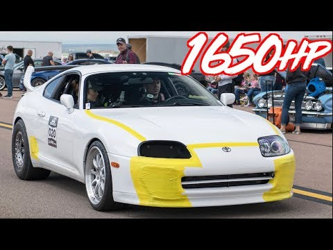 1650HP Sequential Supra 205MPH Street MONSTER - 60PSI of BOOST!