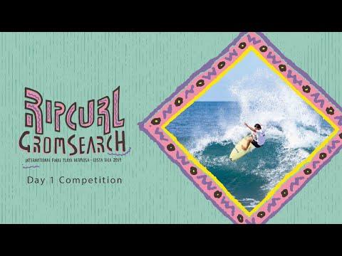 Rip Curl #GromSearch International Final | Playa Hermosa, Costa Rica | Day 1