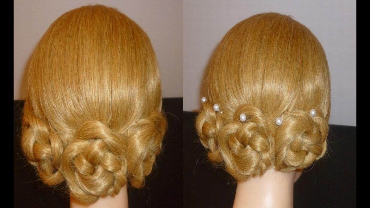 rosen schnelle und einfache flechtfrisuren ausgehfrisuren zopffrisur flower hairstyles peinados. Black Bedroom Furniture Sets. Home Design Ideas
