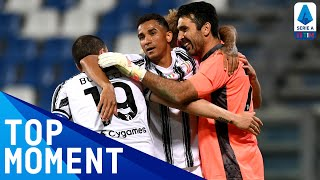 Buffon denies Sassuolo a lead by saving Berardi's penalty | Sassuolo 1-3 Juventus | Serie A TIM