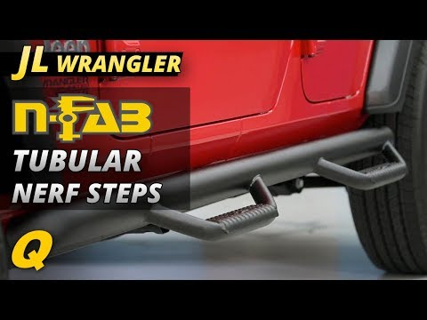 N-FAB Tubular Nerf Step Review for Jeep Wrangler JL