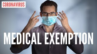 """""""Medical Exemption"""" From Wearing A Mask for Coronavirus (DOCTOR EXPLAINS)"""