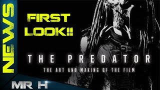THE PREDATOR 2018 First Look At Predator Design