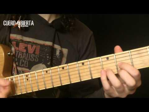 Aprende a tocar ¿Que Ves? - Divididos - Rock Nacional - Leccion de guitarra