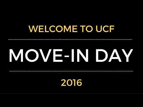 UCF Move-In Day 2016