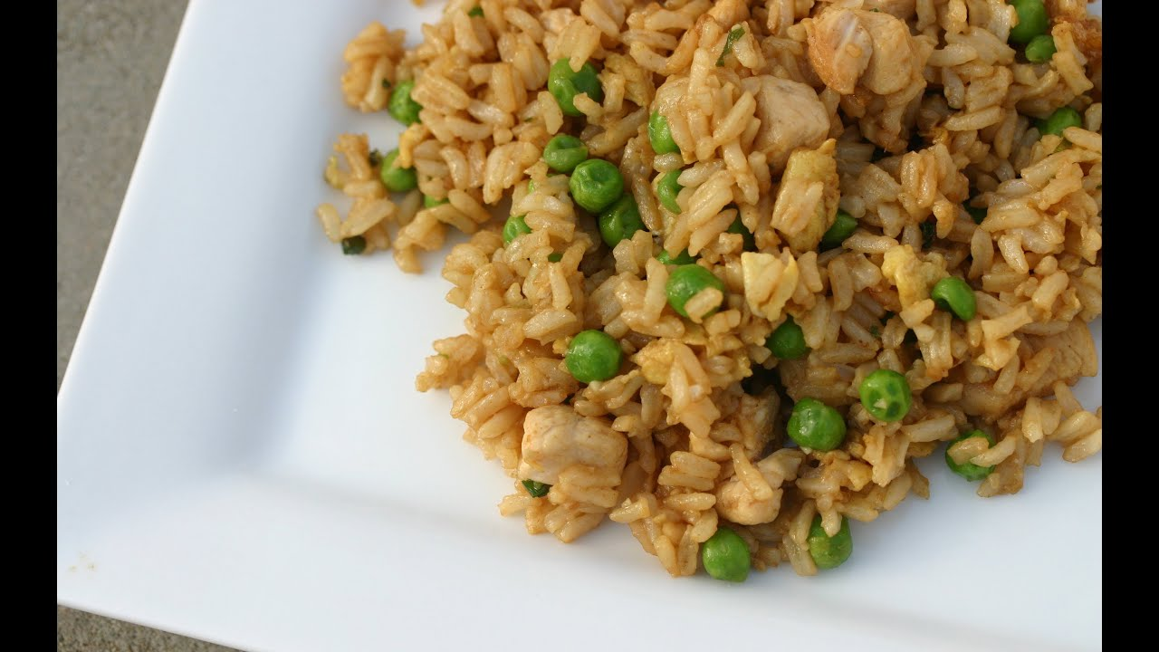 How To Make Chinese Chicken Fried Rice This Can Be Gluten Free Too Youtube