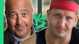Sonny VS Andrew Zimmern - Stinky Tofu in Taiwan