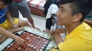 Phan Văn Đức chơi cờ tướng cực gắt, lão tướng Q Tình bỏ chạy||Cầm,Kỳ,Thi,Họa đều hay.