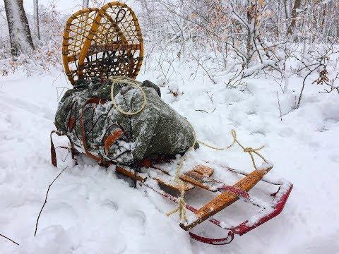 Goldenage Bushcraft - Winter Camping Sled