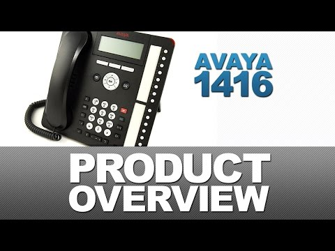 Avaya 1416 Product Overview