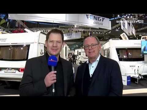 Fendt-Caravan auf der CMT 2020. Interview Sonnenklar-TV mit Hans Frindte (kaufm. Geschäftsführer).