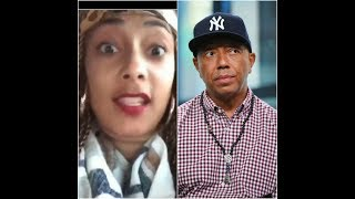 Amanda Seales Tells Of an Awkward Encounter With Russell Simmons In His Office...
