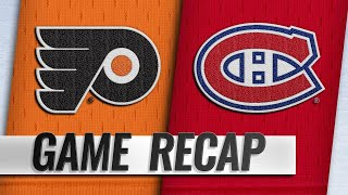 Patrick, Hart help Flyers collect third straight win