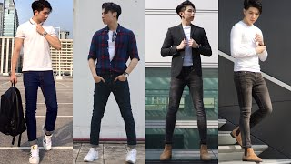 4 EASY SPRING SUMMER OUTFITS FOR MEN | Outfit Inspiration | Men 's wear |男生日常穿著 | ISSAC YIU
