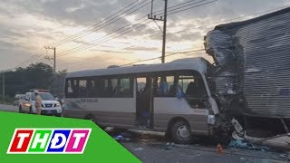 Đồng Nai: Tai nạn giao thông khiến 18 người bị thương | THDT - YouTube