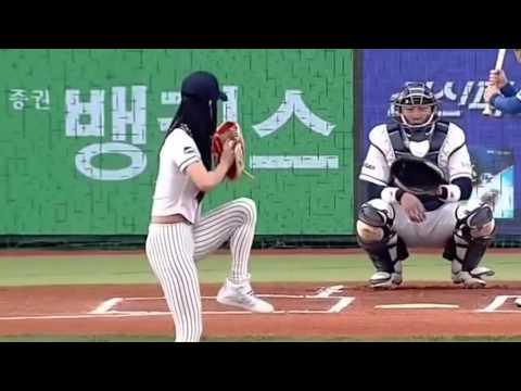 Korean idol first ball TOP 10