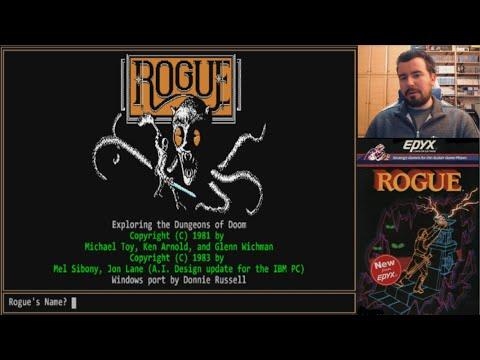 ROGUE Classic (1980, PC) - El padre del género roguelike || GAMEPLAY en Español