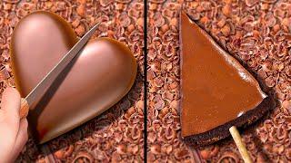 28 DELICIOUS CHOCOLATE RECIPES || DIY Chocolate Decor Ideas, Desserts and Cakes