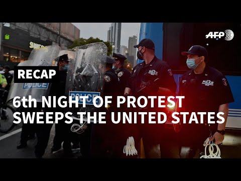 Protests sweep across United States for sixth straight night | AFP