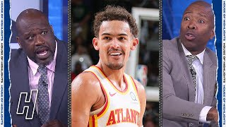 Shaq Got HEATED Talking With Kenny & Chuck Over This Trae Young Play 😂
