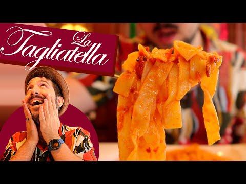 ¡ME INVITAN A COMER! LA TAGLIATELLA. La cadena de ristorante italiani más famosa de España (LLORO)