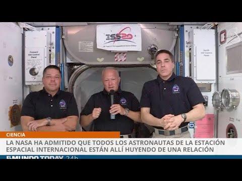 NASA admite que todos los astronautas están huyendo de situaciones en la Tierra | El Mundo Today 24H