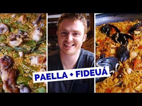 Spanish Food Review – Eating Paella Valenciana in Valencia, Spain