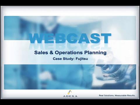 S&OP Case Study: Fujitsu