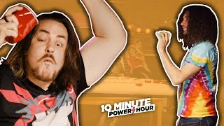 Playing Pong with WEIRD SODAS - Ten Minute Power Hour