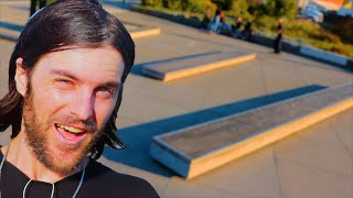 WE VISITED A SKATEBOARDER'S PARADISE!
