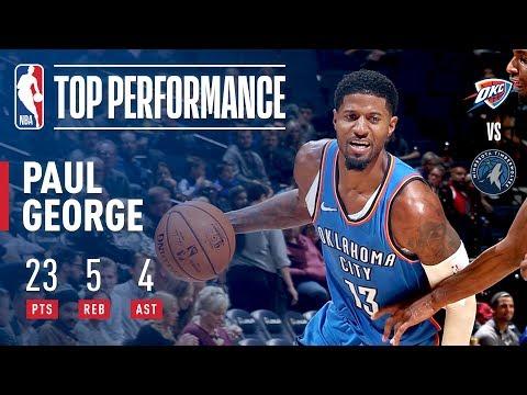 PG-13 Top Plays in Debut vs the Timberwolves | 2018 NBA Preseason
