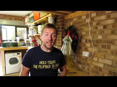 SHOWER REFURB PART 4 HOW TO DRAIN A SHOWER WASTE WITH A MACERATOR - Stuart Turner Lifting Pump