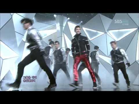 TVXQ [Humanoids] @SBS Inkigayo 인기가요 20121202