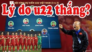 Toàn cảnh trận đấu giữa u22 Việt Nam và U22 Thái Lan