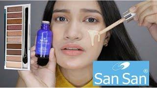 SANSAN Makeup Products!!(MurangMakeup)