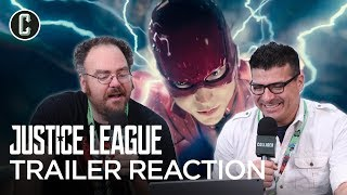"Justice League Trailer Reaction ""Heroes"" Version - NYCC 2017"