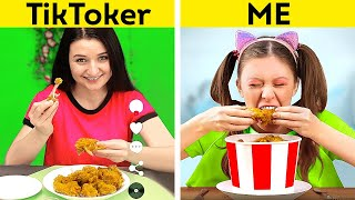 TIKTOKERS vs ME | Expectation & Reality