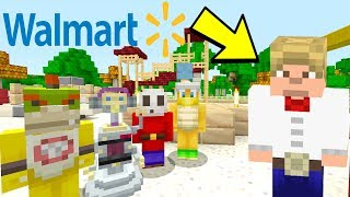 Walmart Yodel Kid At School! [Concert!] - Super Nintendo School - Minecraft Switch - [37]