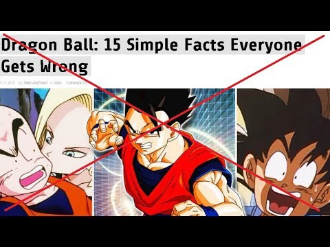 Dragon Ball: 15 Simple Facts Everyone Gets Wrong DEBUNKED