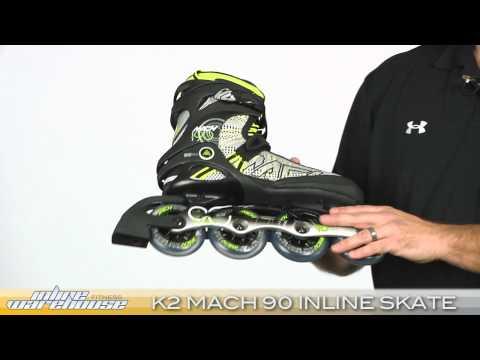 Inline Skates k2 k2 Mach 90 Inline Skate 2011