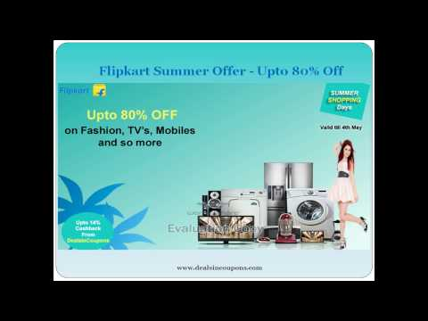 Flipkart Summer Offer - Upto 80% Off