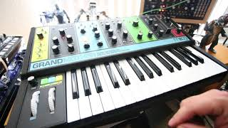 Moog Grandmother Demo, Bach Prelude in C Major